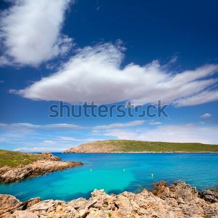 Cap de Fornells cape in Menorca at Balearic islands Stock photo © lunamarina