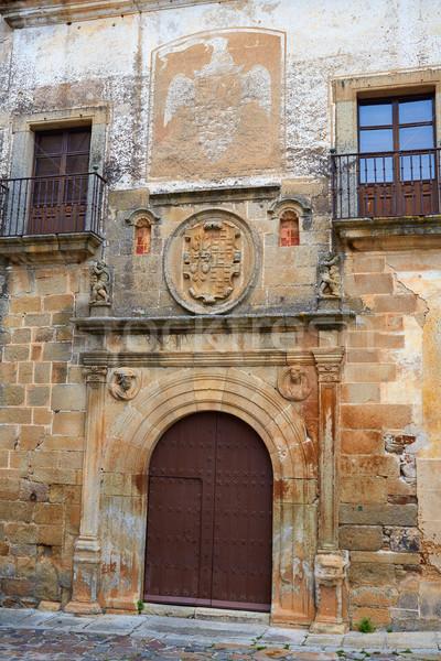Hernando Ovando house in Caceres Spain Stock photo © lunamarina