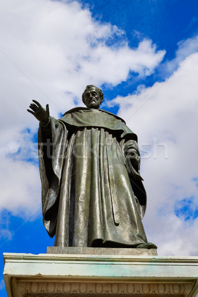 Fray Luis de Leon sculpture in Salamanca Stock photo © lunamarina