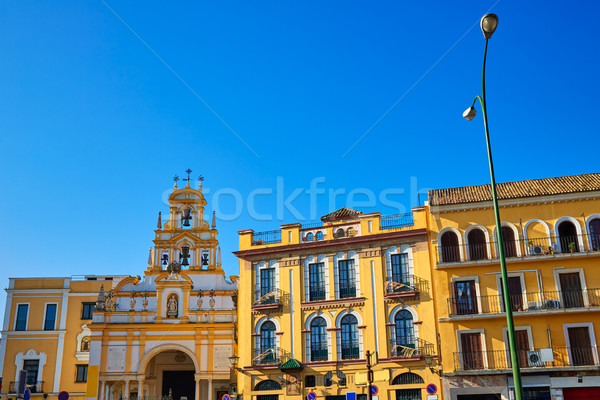Seville Basilica de la Macarena church Sevilla Stock photo © lunamarina