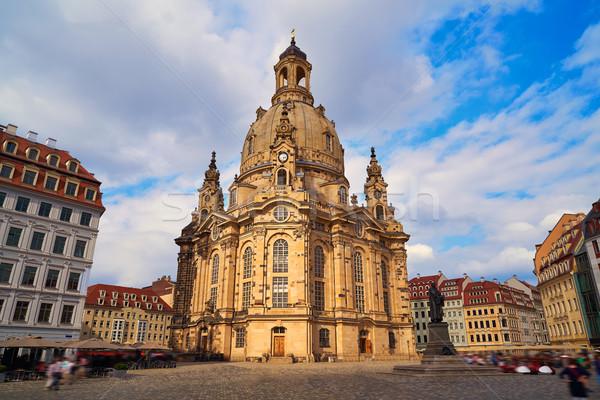 Дрезден Церкви Германия город лет путешествия Сток-фото © lunamarina