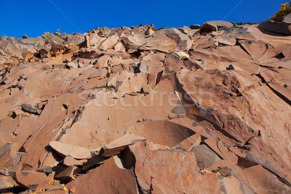 Taş dağ kayalar doku Stok fotoğraf © lunamarina