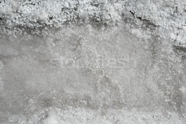 Tuz üretim kurutulmuş deniz tuzlu su gökyüzü Stok fotoğraf © lunamarina