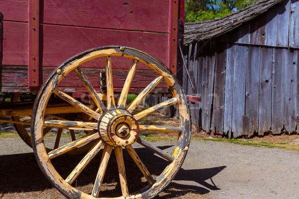 Калифорния старые западной золото торопить Сток-фото © lunamarina