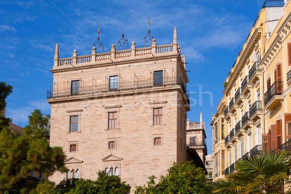 パラオ ラ 宮殿 バレンシア スペイン 市 ストックフォト © lunamarina