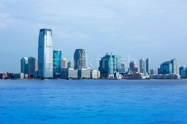 New Jersey skyline from Hudson River NY USA Stock photo © lunamarina