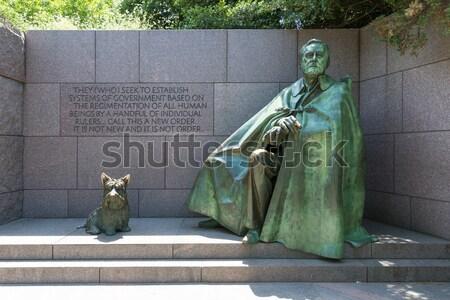 Franklin Delano Roosevelt Memorial Washington Stock photo © lunamarina