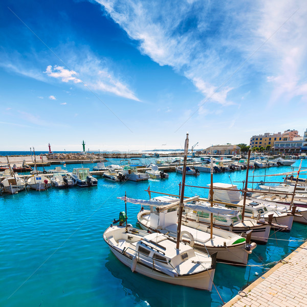 Majorca Cala Bona marina Son Servera Mallorca Stock photo © lunamarina