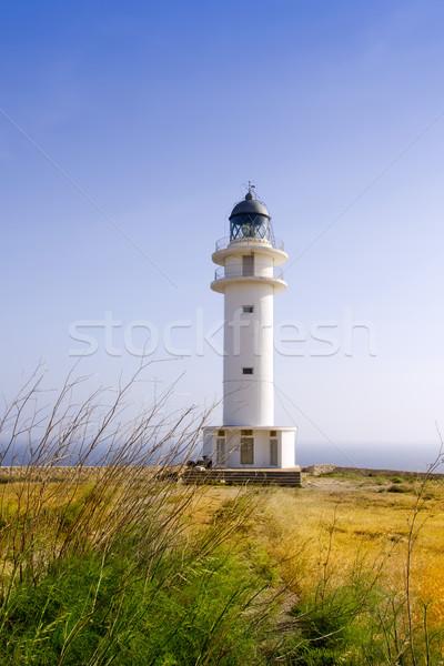 Barbaria Lighthouse Formentera Balearic Island Stock photo © lunamarina