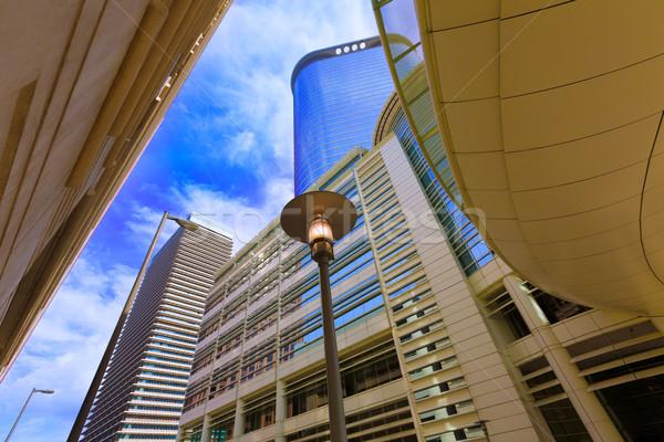 Houston városkép harang Texas üzlet égbolt Stock fotó © lunamarina