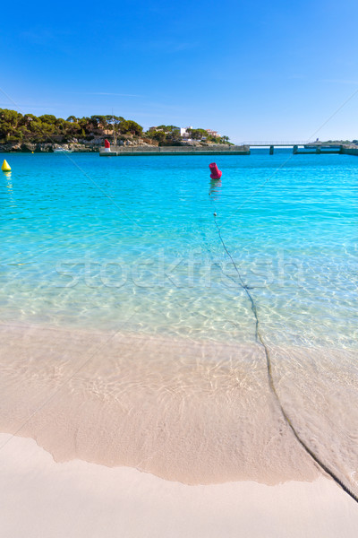 Majorca Porto Cristo beach in Manacor at Mallorca Stock photo © lunamarina