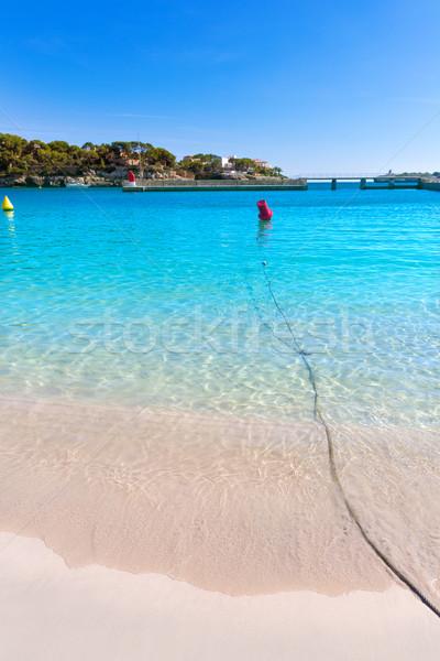 Strand majorca eiland Spanje water landschap Stockfoto © lunamarina