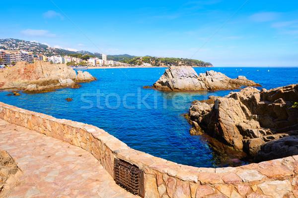 Costa Brava Cami de Ronda track Lloret de Mar Stock photo © lunamarina