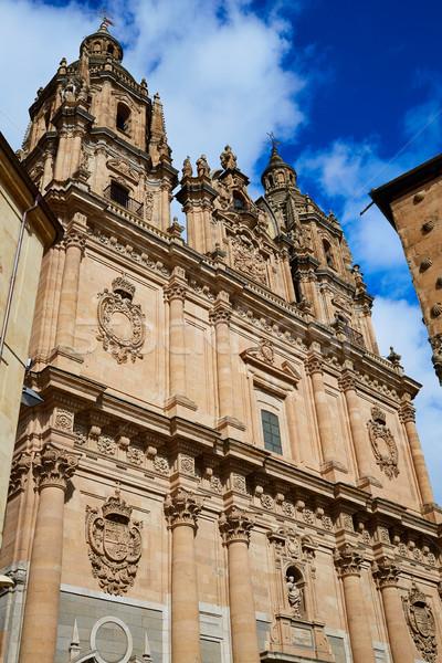 Salamanca Clerecia church and Casa Conchas Stock photo © lunamarina