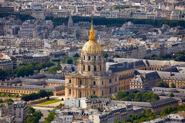 антенна Париж Skyline Франция купол Сток-фото © lunamarina
