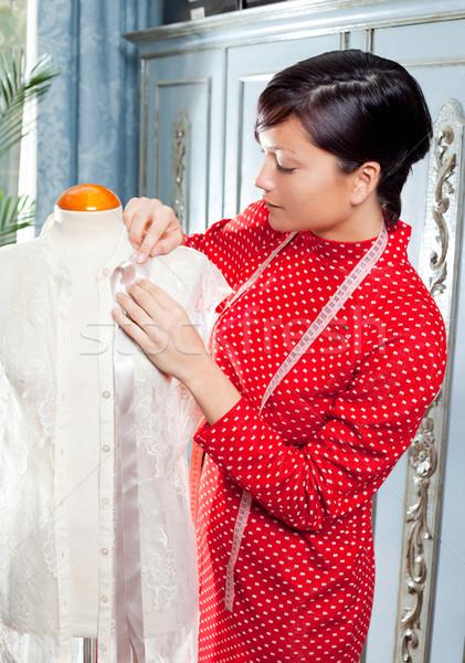 Foto d'archivio: Mannequin · lavoro · home · professionali · moda · designer
