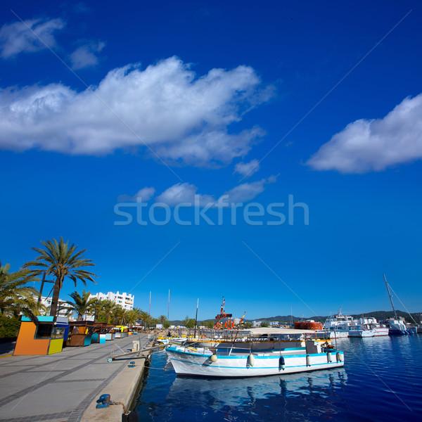 Ibiza san Antonio Abad de Portmany marina port Stock photo © lunamarina