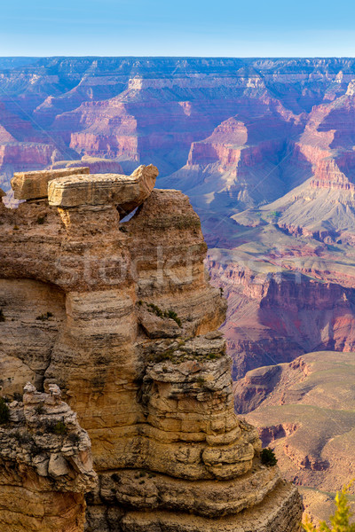 Arizona Grand Canyon National Park Mother Point US Stock photo © lunamarina