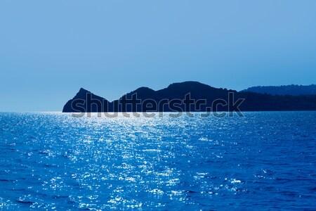 Javea Xabia Cabo San Martin cape in Mediterranean Stock photo © lunamarina