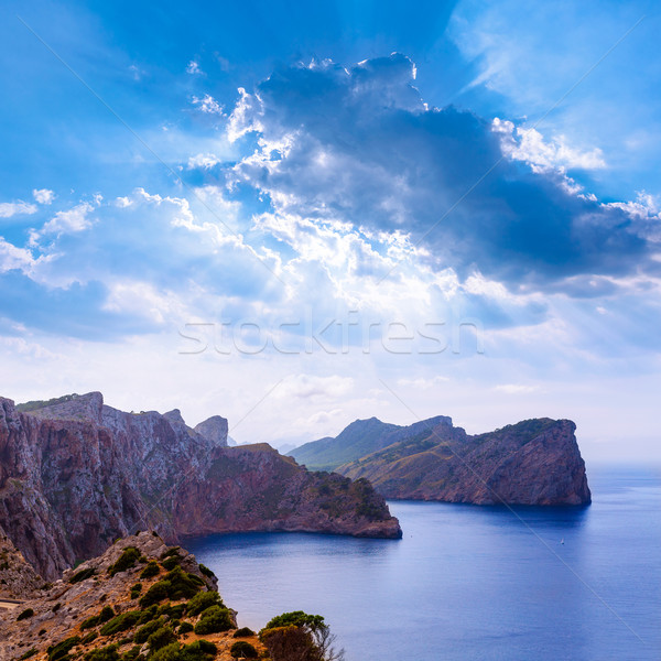 Majorca Formentor Cape in Mallorca Balearic island Stock photo © lunamarina