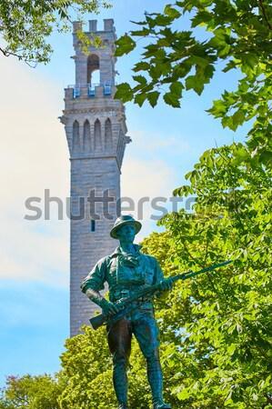 Foto d'archivio: Cape · cod · pellegrino · torre · Massachusetts · USA · mare