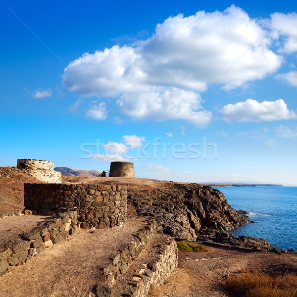 Foto stock: Torre · canário · ilha · castelo · canárias · Espanha