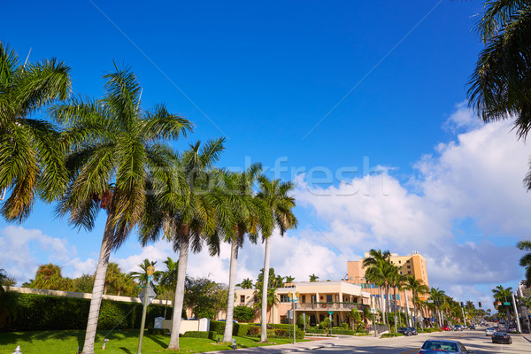 Del Ray Delray beach Florida USA Stock photo © lunamarina