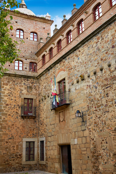дома Испания здании город улице искусства Сток-фото © lunamarina