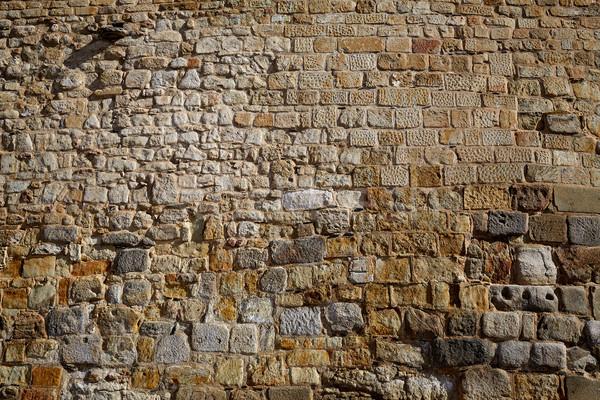 Hiszpania kamieniarstwo szczegół la sposób miasta Zdjęcia stock © lunamarina