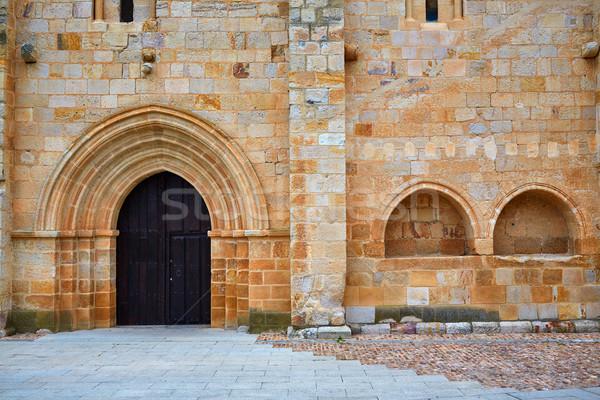 Carmen de San Isidoro church Zamora Spain Stock photo © lunamarina