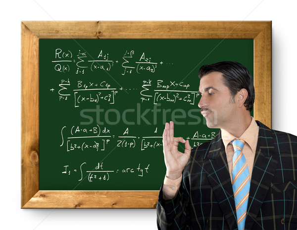 mathematical formula genius tacky geek easy resolve Stock photo © lunamarina