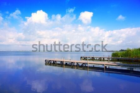 Albufera lake in Valencia El Saler Stock photo © lunamarina