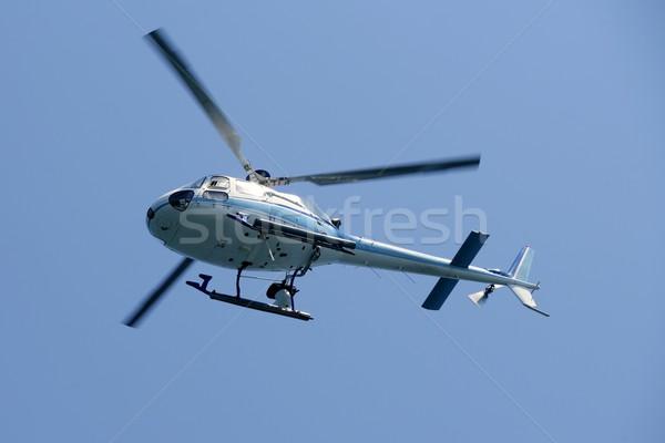 Helicopter holding video camera filming  Stock photo © lunamarina