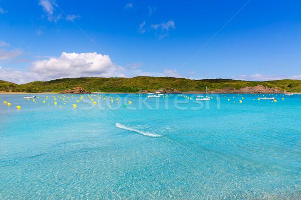 Czyste portu łodzi wody charakter krajobraz Zdjęcia stock © lunamarina