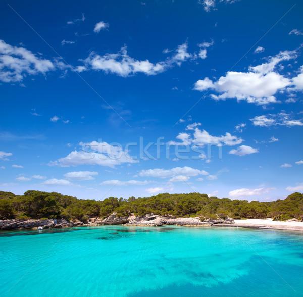 Morze Śródziemne turkus niebo wody słońce morza Zdjęcia stock © lunamarina