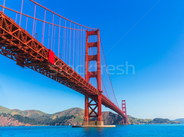 Golden Gate Bridge San Francisco Californië USA hemel stad Stockfoto © lunamarina