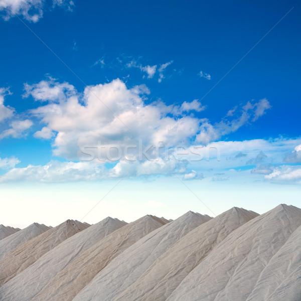Saltworks in Alicante province Santa Pola Stock photo © lunamarina