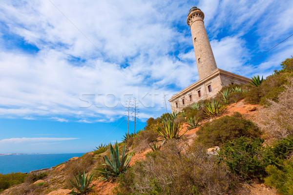 Cabo de Palos lighthouse near Mar Menor Spain Stock photo © lunamarina