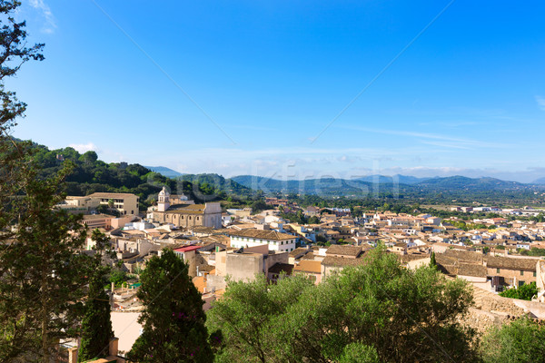 Majorca Capdepera village at  Mallorca Balearics Stock photo © lunamarina