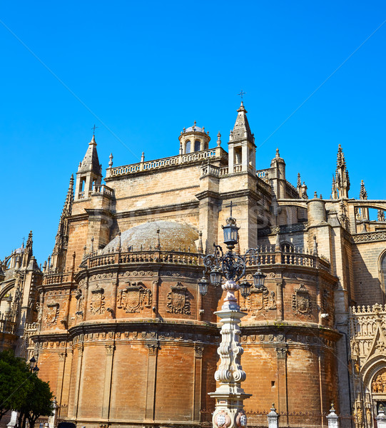 Seville the cathedral of Sevilla Andalusia  Stock photo © lunamarina