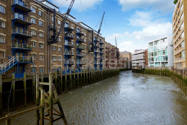 London Butlers Wharf and buildings Stock photo © lunamarina