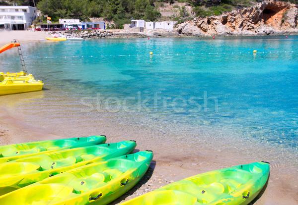 Ibiza Port de San Miquel San Miguel beach Stock photo © lunamarina