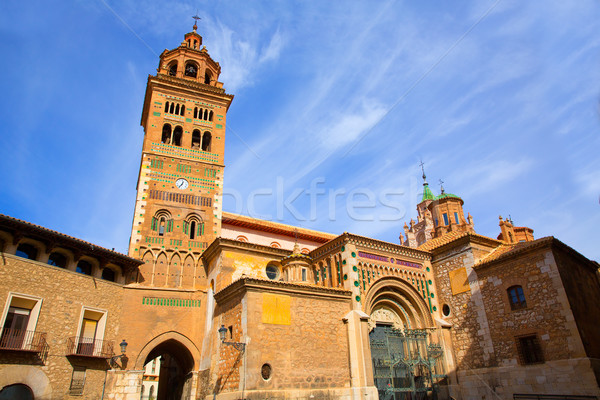 Aragon Teruel Mudejar Cathedral Santa María Mediavilla UNESCO Stock photo © lunamarina