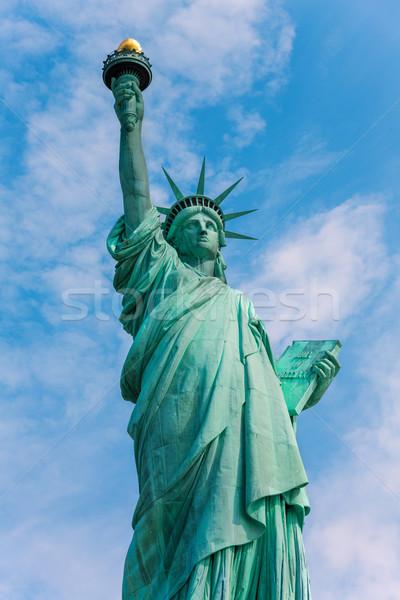 Estátua liberdade Nova Iorque americano símbolo EUA Foto stock © lunamarina