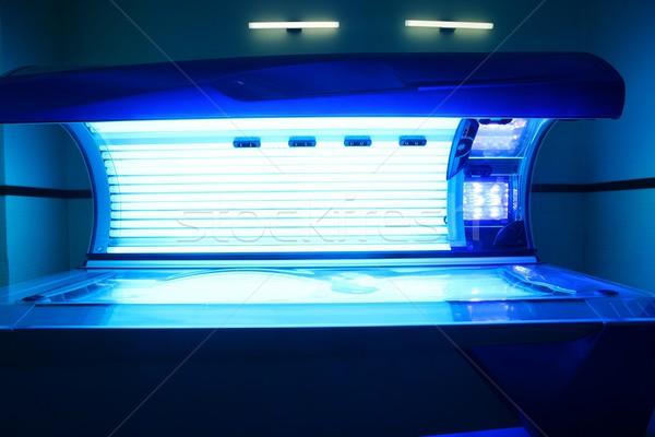 солярий свет машина синий цвета Сток-фото © lunamarina