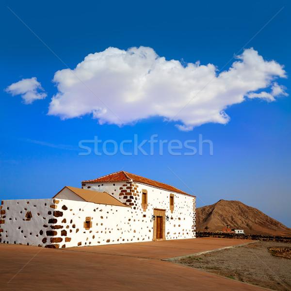 Stock photo: Tindaya Fuerteventura at Canary Islands