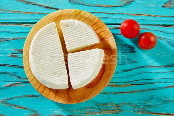Tapas queijo conselho tomates cereja Espanha árvore Foto stock © lunamarina