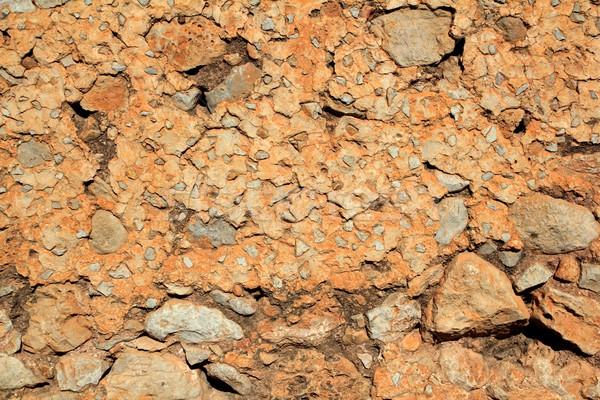 Alvenaria stonewall antigo concreto textura parede Foto stock © lunamarina