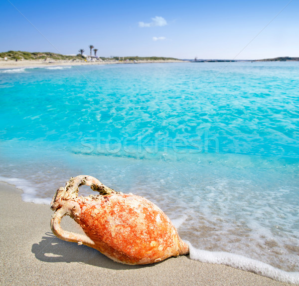 Foto stock: Romano · cultura · mediterrânico · praia · turquesa · Espanha
