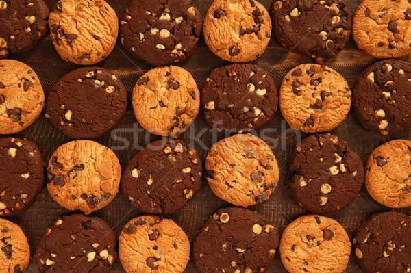 Chocolate cookie biscuits  Stock photo © lunamarina